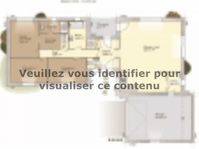 Plan de maison La Villa 120 : Vignette 1