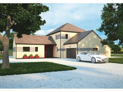 Modèle de maison La Villa 170 5 chambres  : Photo 1