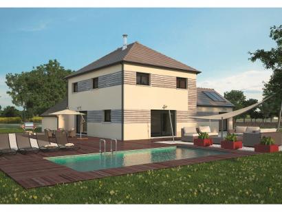 Modèle de maison La Villa 170 5 chambres  : Photo 2
