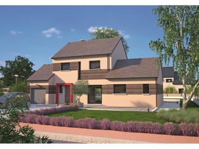Modèle de maison Design 90+27 V2 4 chambres  : Photo 1