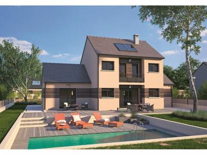 Modèle de maison Design 90+27 V2 4 chambres  : Photo 2