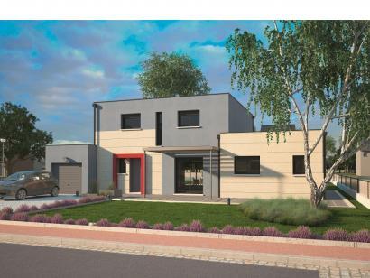 Modèle de maison Design 125+27 V4 5 chambres  : Photo 1