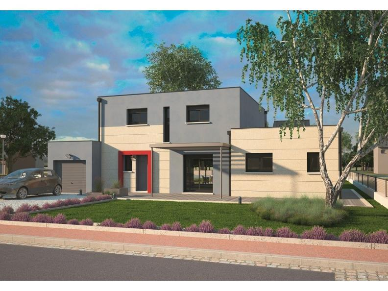 Modèle de maison Design 125+27 V4 : Vignette 1