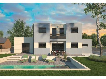 Modèle de maison Design 125+27 V4 5 chambres  : Photo 2