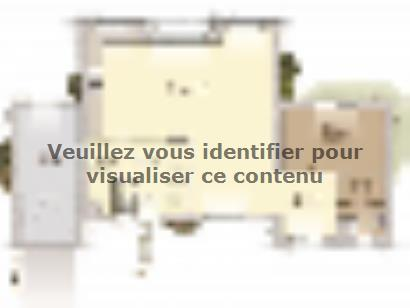 Plan de maison Design 125+27 V4 5 chambres  : Photo 1