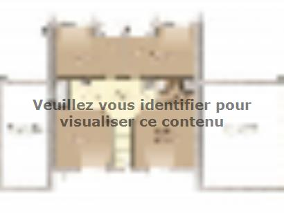 Plan de maison Design 125+27 V4 5 chambres  : Photo 2