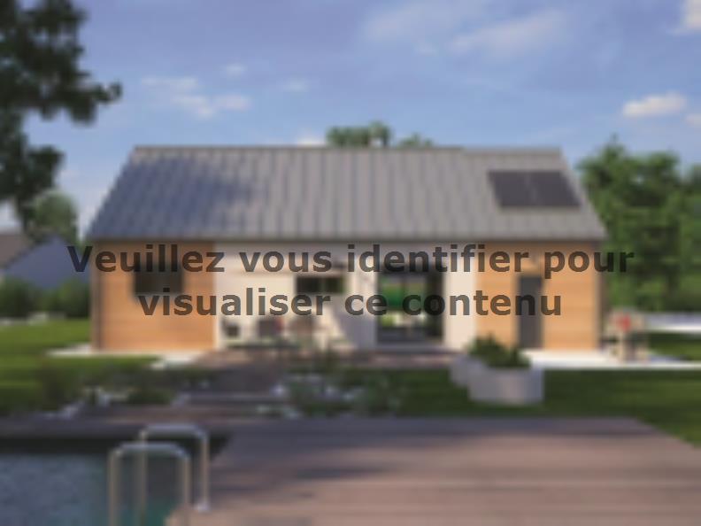 Modèle de maison Plain-pied 70 : Vignette 2