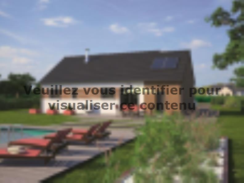 Modèle de maison Plain-pied 80 : Vignette 2