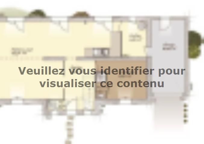 Plan de maison Tradition 125L : Vignette 1