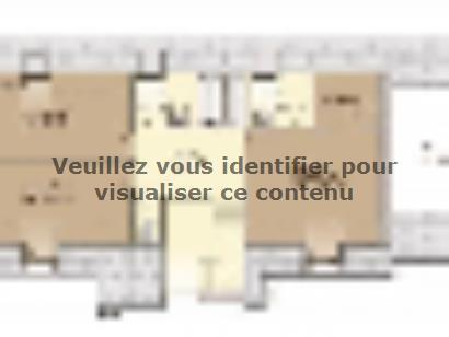 Plan de maison Tradition 125L 4 chambres  : Photo 2