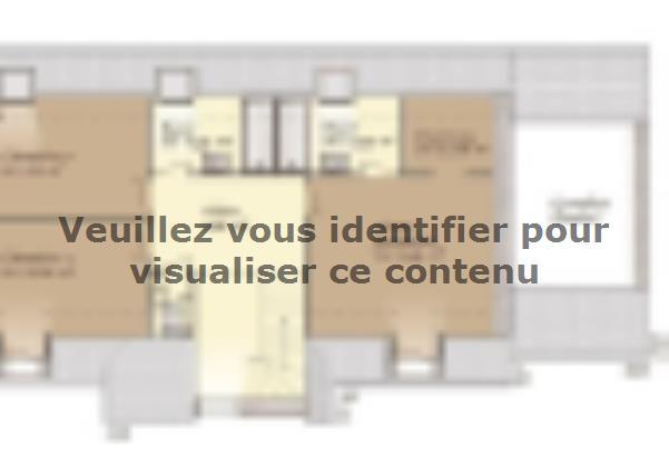 Plan de maison Tradition 125L : Vignette 2