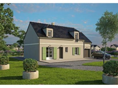 Modèle de maison Tradition 133L 3 chambres  : Photo 1