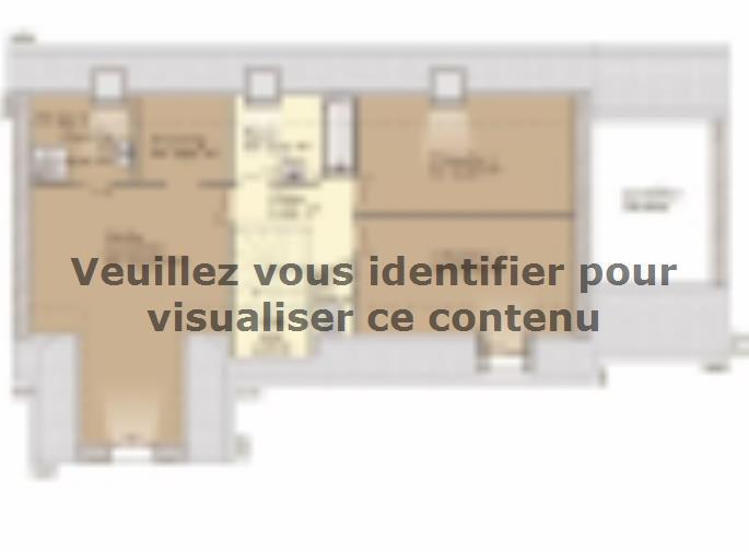 Plan de maison Tradition 133L : Vignette 2