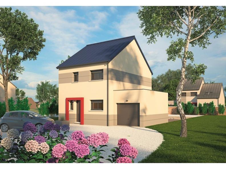 Modèle de maison Urbaine GA 6.5 : Vignette 1