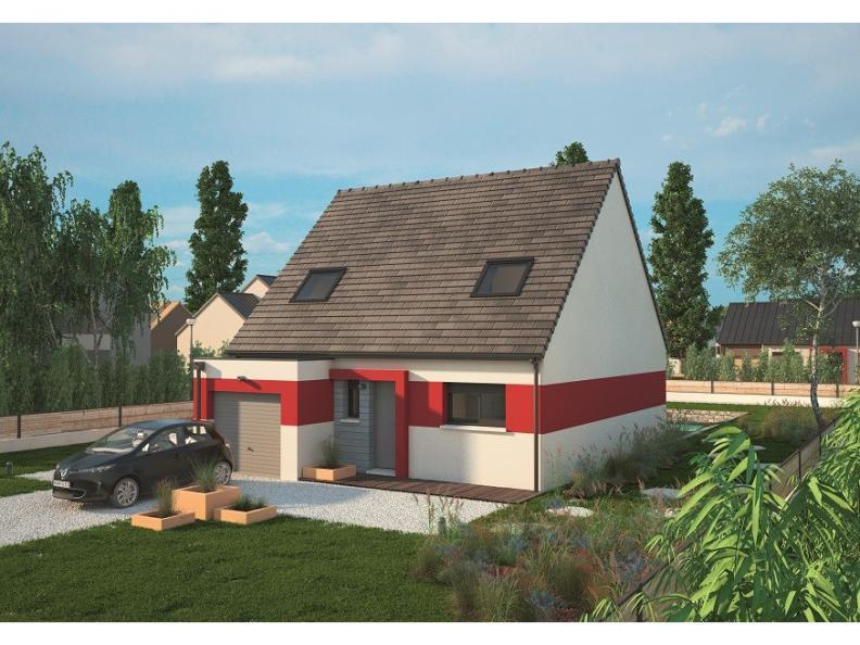 Modèle de maison Urbaine GI 9 CA : Vignette 1