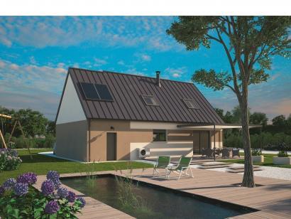 Modèle de maison Aménagé 100 4 chambres  : Photo 2