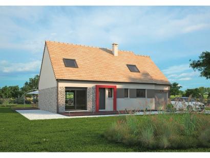 Modèle de maison Aménagé 117 4 chambres  : Photo 1