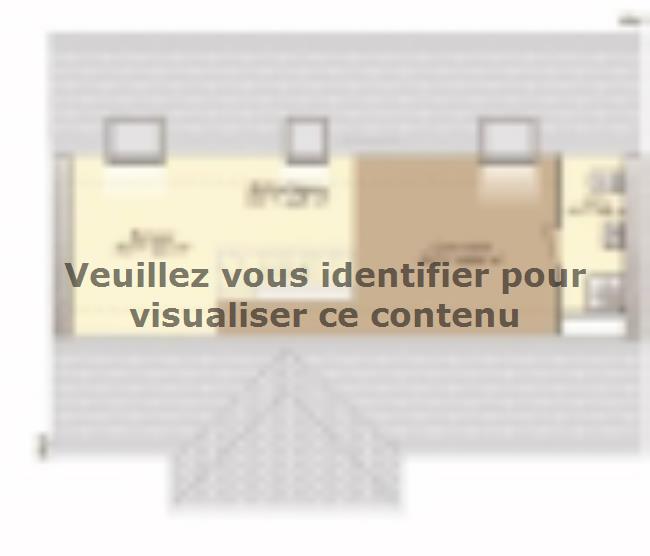Plan de maison Contemporaine 186 : Vignette 3