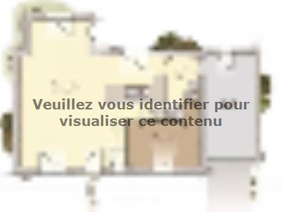 Plan de maison Tradition 114L 4 chambres  : Photo 1