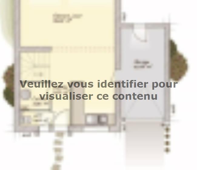 Plan de maison Urbaine GA 6.5 : Vignette 1