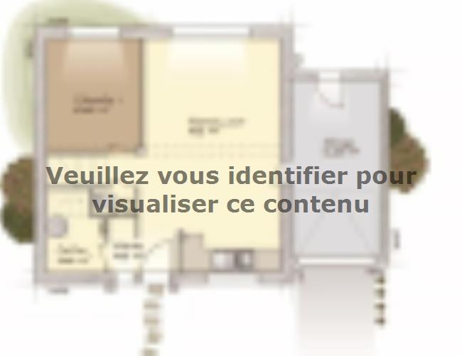 Plan de maison Urbaine GA 8 : Vignette 1