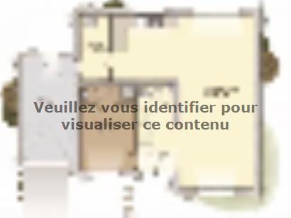 Plan de maison Urbaine GA 10 4 chambres  : Photo 1