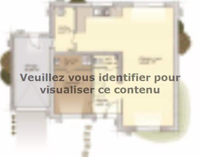 Plan de maison Urbaine GA 10 : Vignette 1