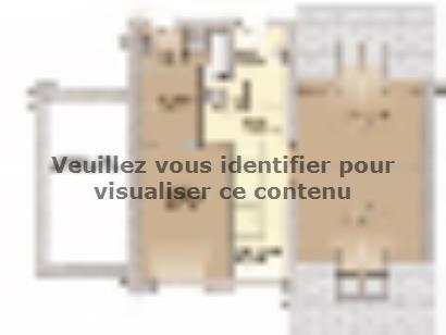 Plan de maison Urbaine GA 10 4 chambres  : Photo 2