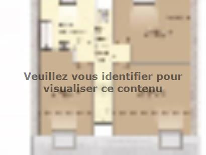Plan de maison Urbaine GI 9 CA 4 chambres  : Photo 2