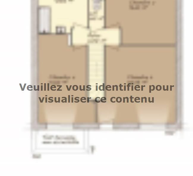 Plan de maison Urbaine GI 9 R + 1 : Vignette 2