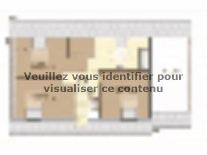 Plan de maison Aménagé 117 4 chambres  : Photo 2