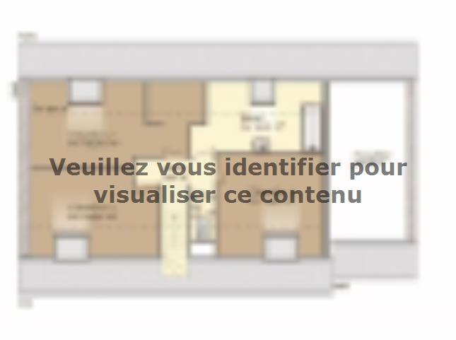 Plan de maison Aménagé 117 : Vignette 2