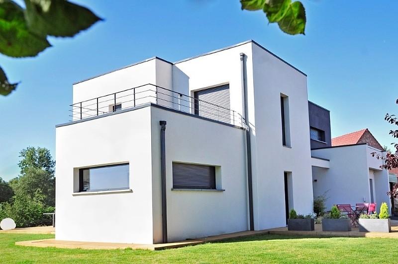 Construire une maison design maisons france confort for Construire une maison france