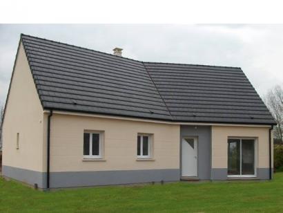Modèle de maison PLP_Y_GI_104m2_3ch_P13844 3 chambres  : Photo 1
