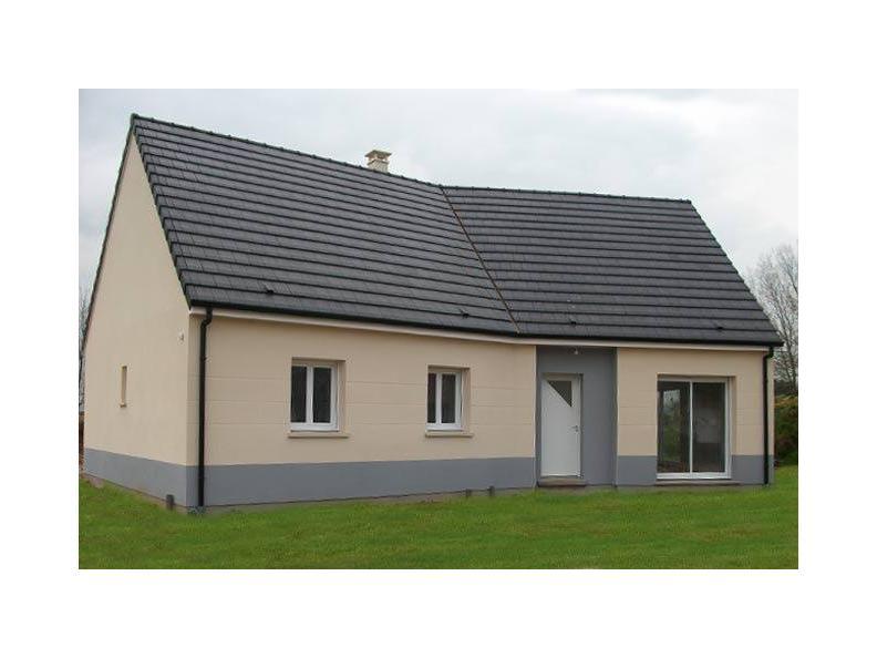 Modèle de maison PLP_Y_GI_104m2_3ch_P13844 : Vignette 1