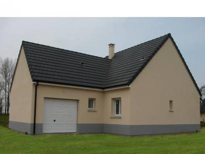 Modèle de maison PLP_Y_GI_104m2_3ch_P13844 3 chambres  : Photo 2
