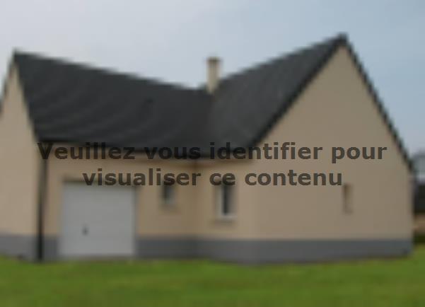 Modèle de maison PLP_Y_GI_104m2_3ch_P13844 : Vignette 2