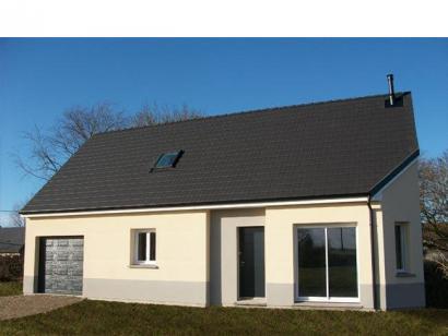 Modèle de maison ETG_R_GI_101m2_3ch_P14090 3 chambres  : Photo 1