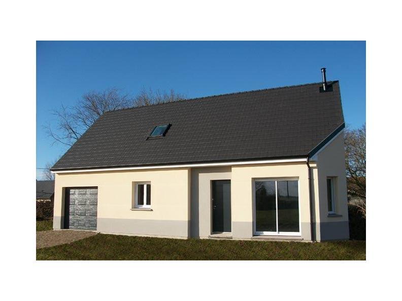 Modèle de maison ETG_R_GI_101m2_3ch_P14090 : Vignette 1