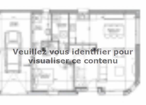 Plan de maison ETG_R_GI_101m2_3ch_P14090 : Vignette 1