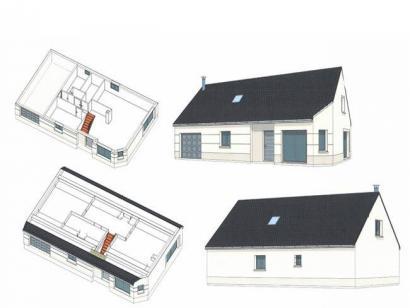 Plan de maison ETG_R_GI_101m2_3ch_P14090 3 chambres  : Photo 3