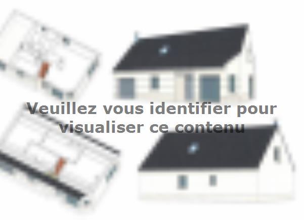 Plan de maison ETG_R_GI_101m2_3ch_P14090 : Vignette 3