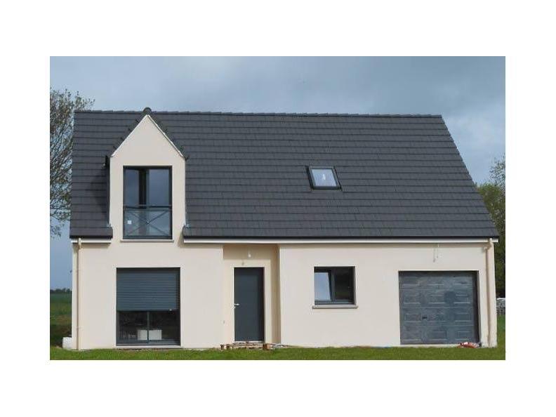 Modèle de maison ETG_R_GI_113m2_3ch_P1641 : Vignette 1