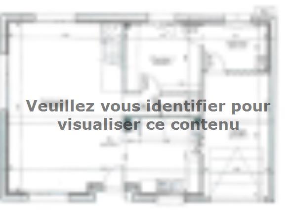Plan de maison ETG_R_GI_113m2_3ch_P1641 : Vignette 1