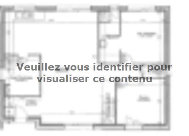 Plan de maison ETG_R_SG_CA_85m2_2ch_P13763 : Vignette 1