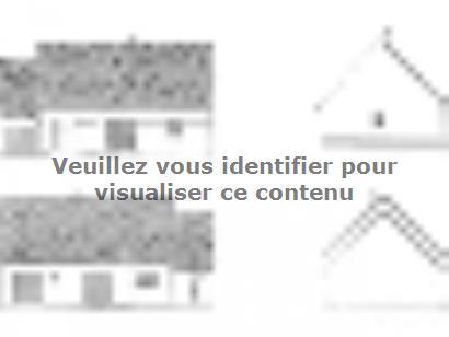 Plan de maison ETG_R_SG_CA_85m2_2ch_P13763 2 chambres  : Photo 2
