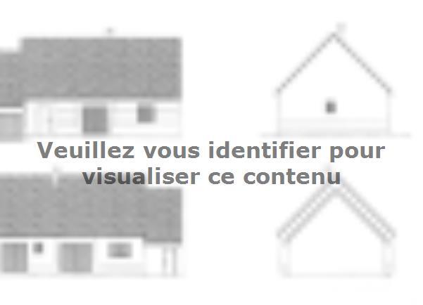 Plan de maison ETG_R_SG_CA_85m2_2ch_P13763 : Vignette 2