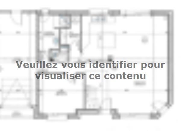 Plan de maison ETG_R_GI_128m2_4ch_P15270 : Vignette 1