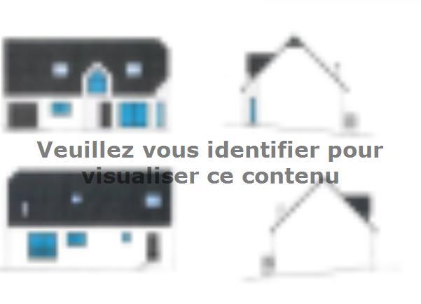 Plan de maison ETG_R_GI_128m2_4ch_P15270 : Vignette 3