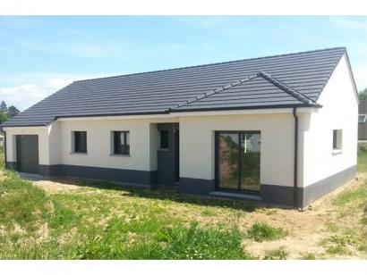 Modèle de maison PLP_R_GI_107m2_3ch_P2716 3 chambres  : Photo 1